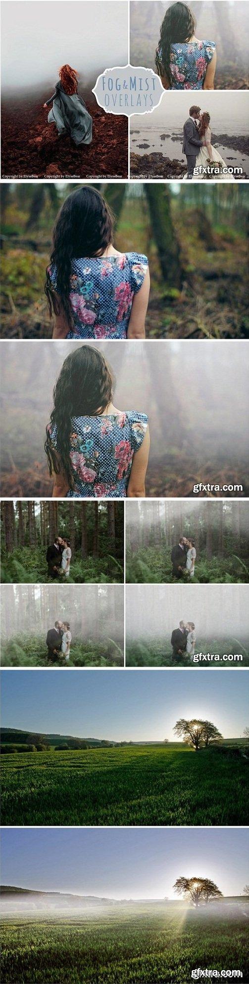 Fog Photoshop Overlays & Brushes