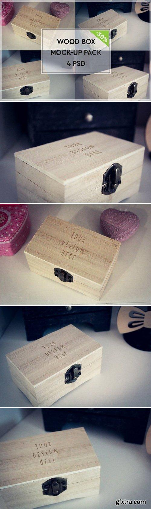 CM - Wood Box Mock-up Pack 1117506