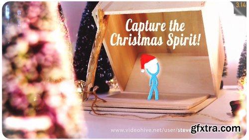 Videohive Capture the Christmas Spirit | Christmas Card Animation 18876333