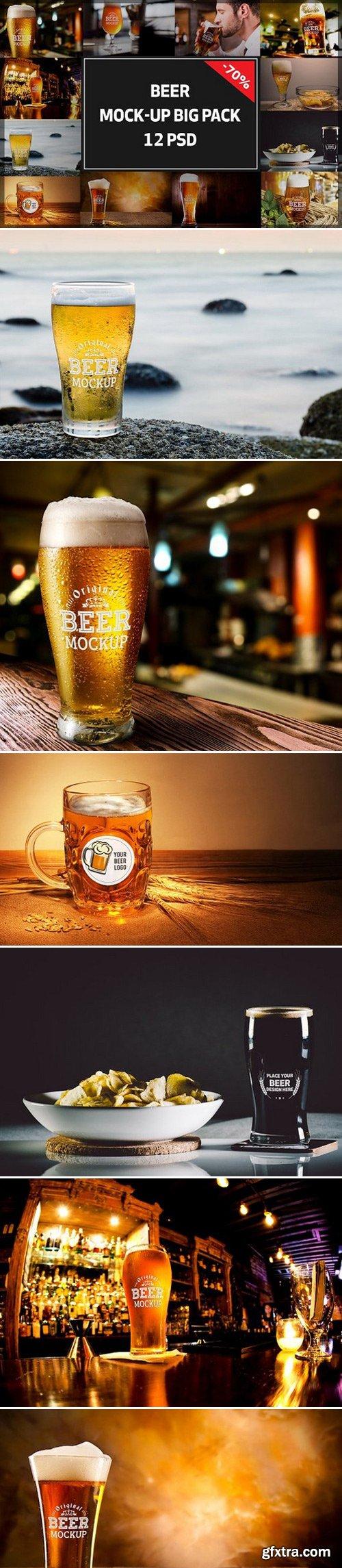 CM - Beer Mock-up Big Pack#3 1099046