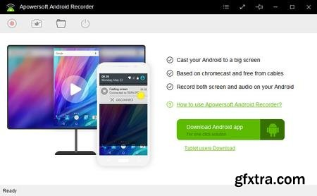 Apowersoft Android Recorder 1.0.9 (Build 01/07/2017) Multilingual