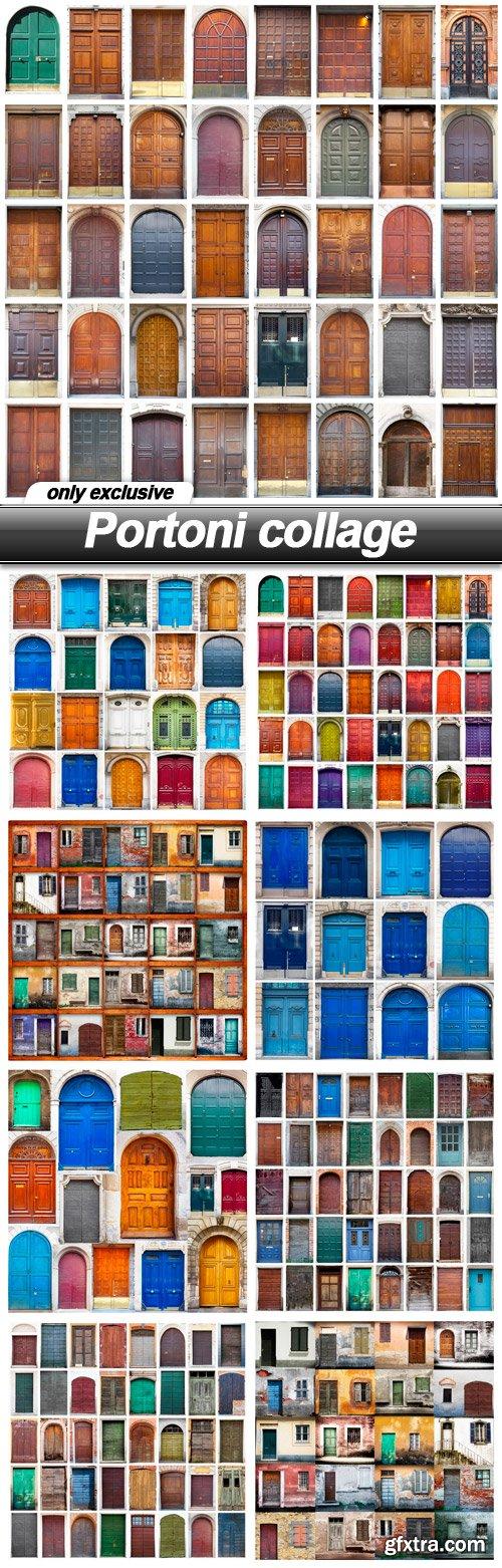 Portoni collage - 9 UHQ JPEG