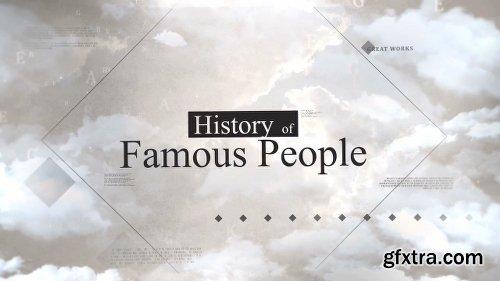Videohive Double Exposure History Opener 18716587