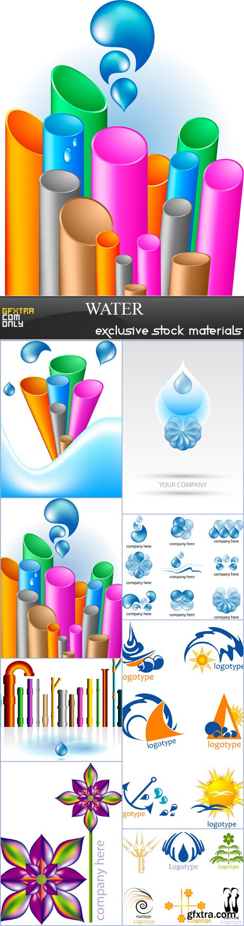 Water - 8 EPS