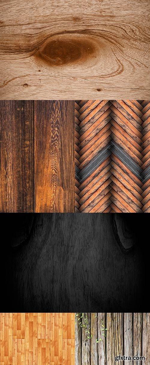 Wooden backgrounds raster
