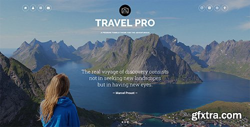 ThemeForest - Travel Pro v1.0 - Tumblr Theme - 19264321
