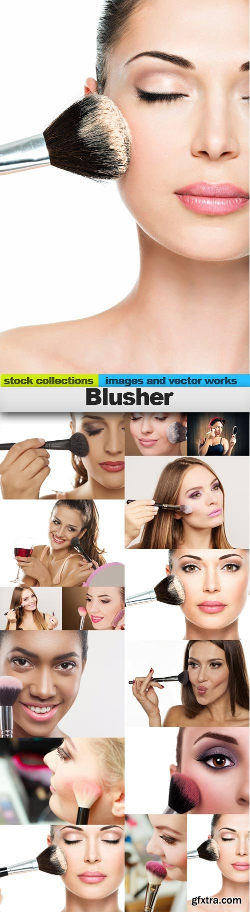 Blusher, 15 x UHQ JPEG