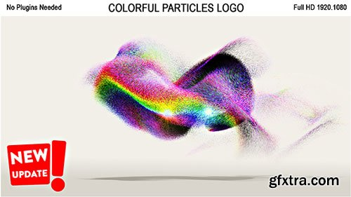 Videohive - Colorful Particles Logo - 19236015