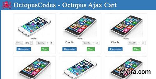 CodeCanyon - Octopus Ajax Cart (Update: 4 April 16) - 15105686