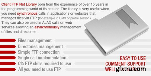 CodeCanyon - Client FTP Net Library v1.0 - 8437879