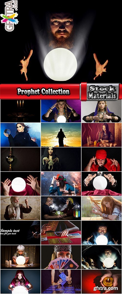 Prophet Collection fortune teller fortune-telling prediction magic ball 25 HQ Jpeg