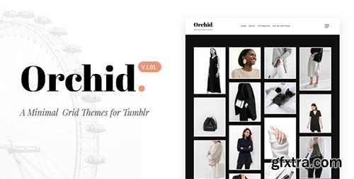 ThemeForest - Orchid v1.00 - Minimal Grid Tumblr Theme - 19228133