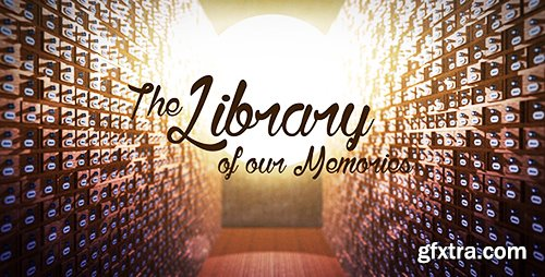 Videohive The Library of our Memories Slideshow 12060253