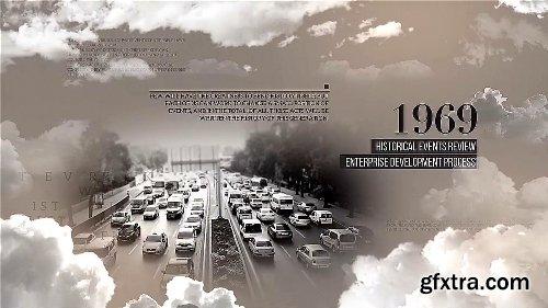Videohive Seas Of Clouds History Opener 19215073