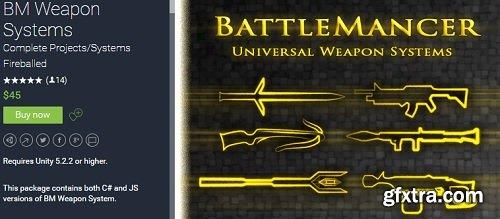 Unity Asset – BM Weapon System