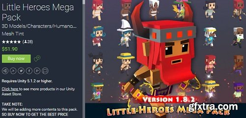 Unity Asset – Little Heroes Mega Pack 1.8.1