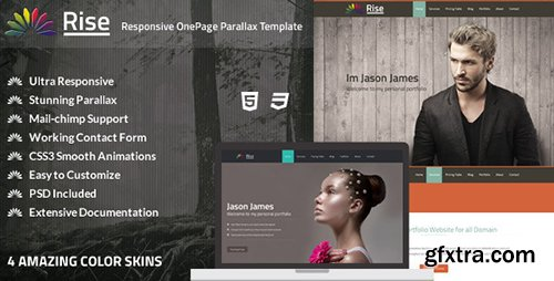 ThemeForest - Rise - Responsive OnePage Parallax Template (Update: 10 July 15) - 5688923