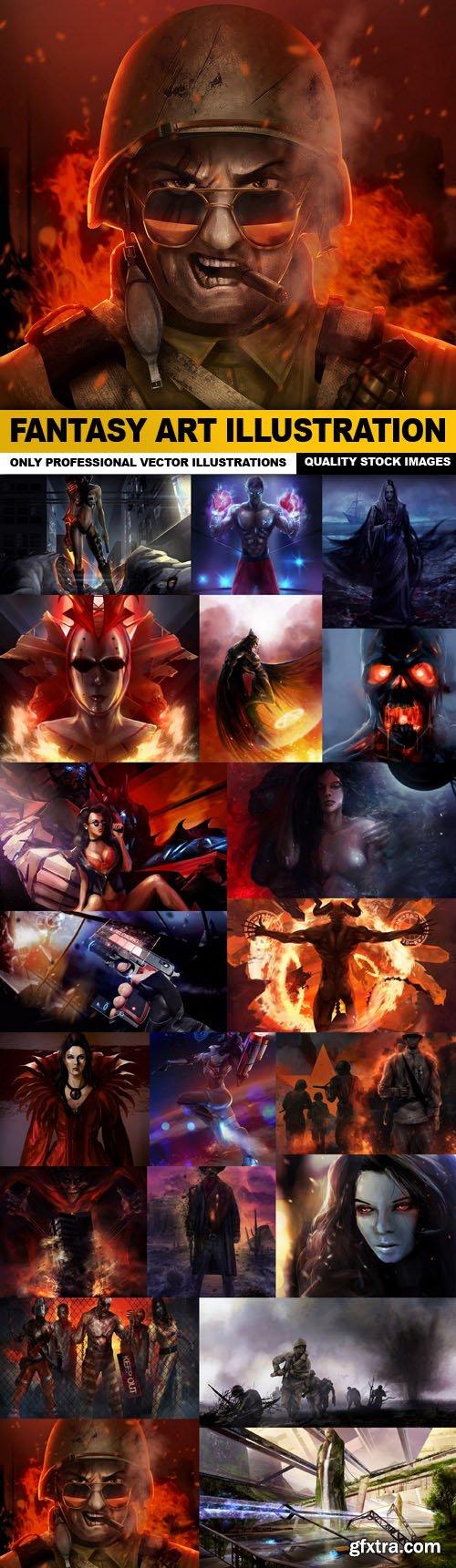Fantasy Art Illustration - 20 HQ Images