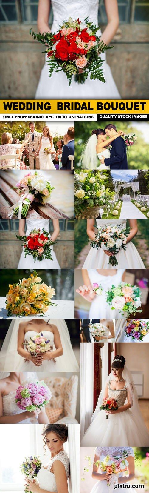 Wedding Bridal Bouquet - 15 HQ Images