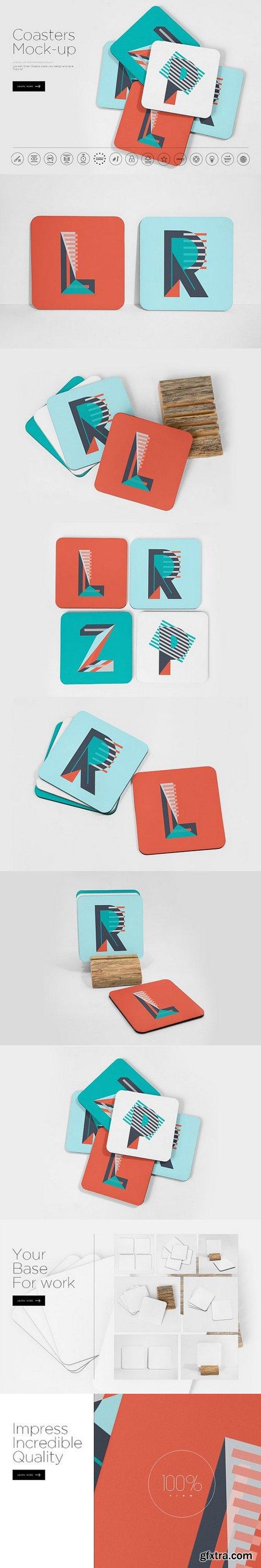 CM - Coasters Mockup 1151728