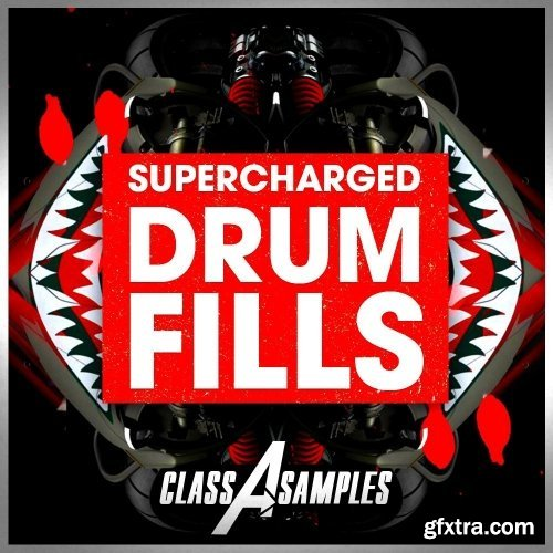 Class A Samples Supercharged Drum Fills WAV-DISCOVER