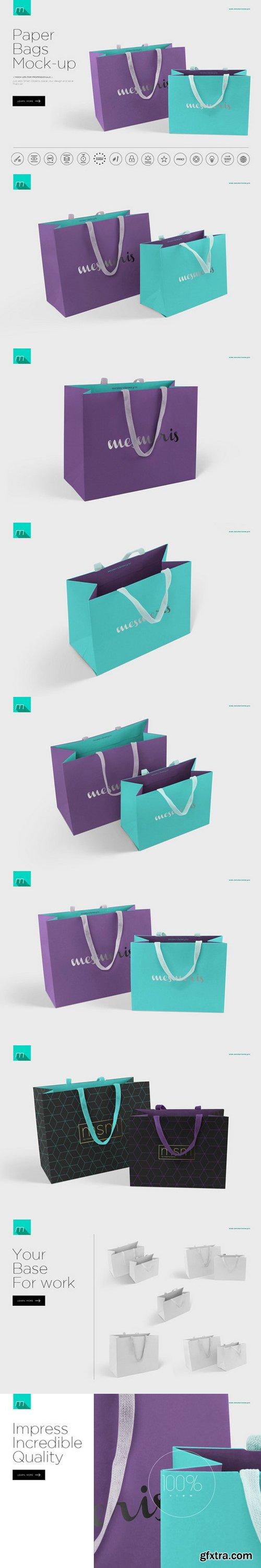 CM - Paper Bags Mock-up 495830