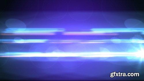 Сamera flashes and beams