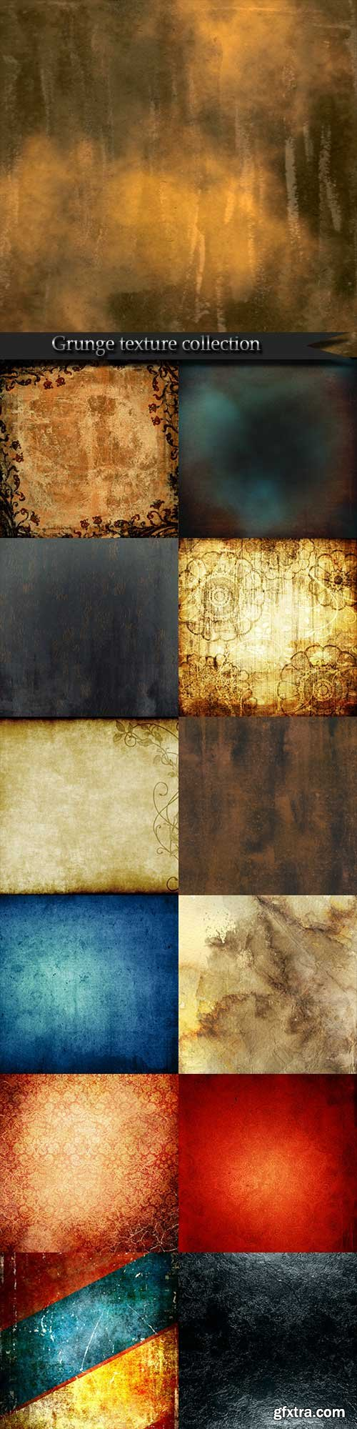 Grunge texture collection