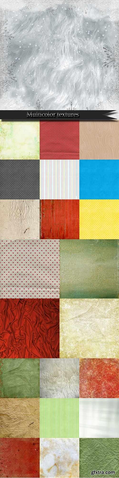 Multicolor textures