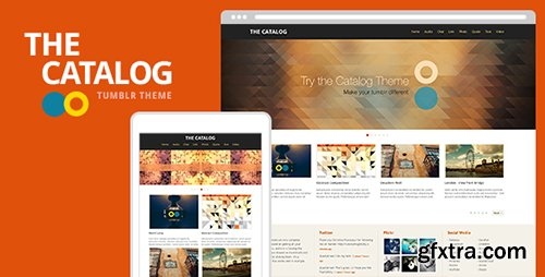 ThemeForest - The Catalog v1.6 - Tumblr Theme - 3862898