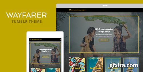ThemeForest - Wayfarer v1.01 - Tumblr Theme - 19297621