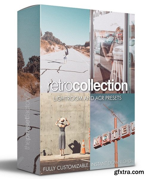 The Preset Factory Retro Collection Lightroom Presets