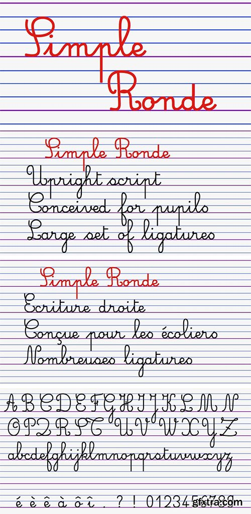 Simple Ronde - Conceived for Young Pupils 4xTTF