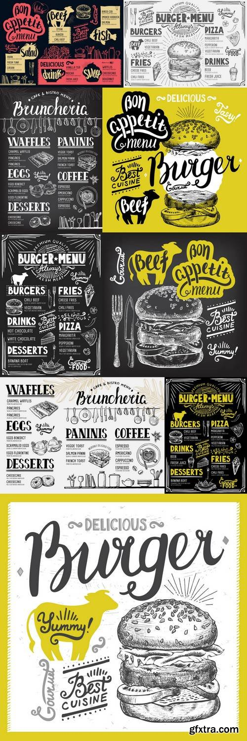 Menu Restaurant - Food Template