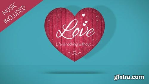 Videohive - Valentine Hearts - 19293463
