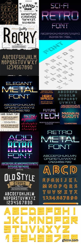 Alphabet Vector Font 5