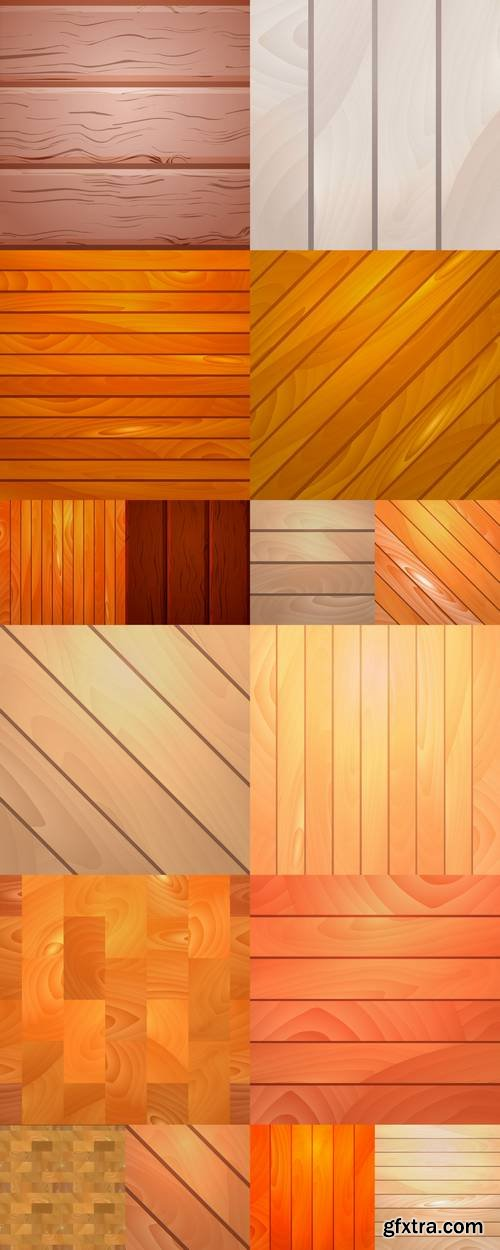 Realistic Wooden Background