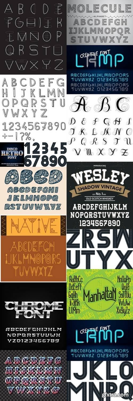 Alphabet Vector Font 6
