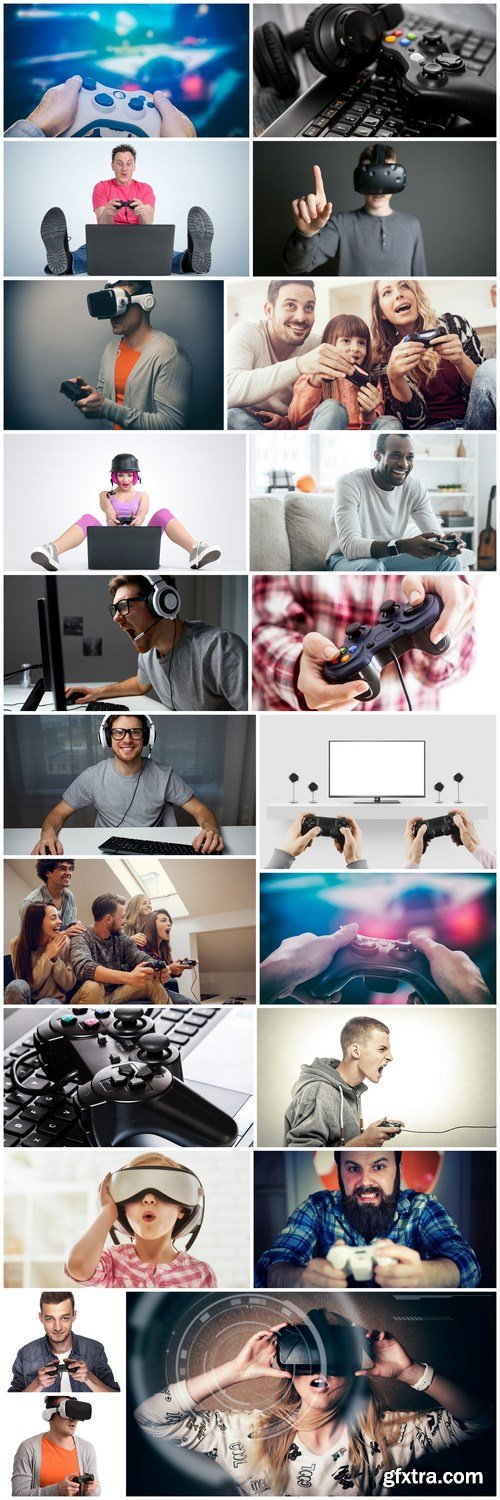 Gamers Games Consoles - 25 HQ Images