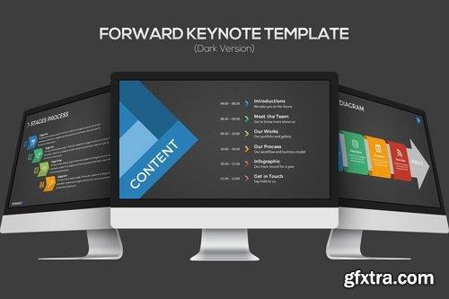Forward Keynote Template (Dark Version)