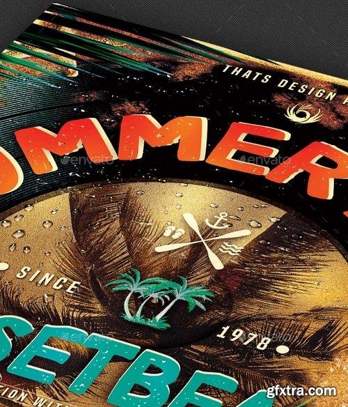 GraphicRiver - Summer Fest Flyer Template V1 11264310