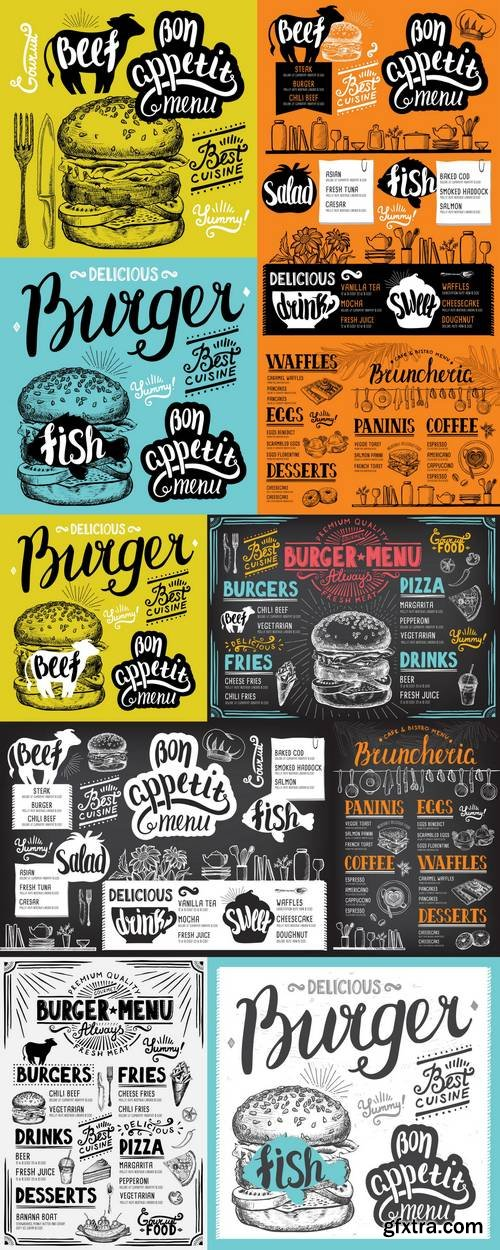 Menu Restaurant - Food Template 2