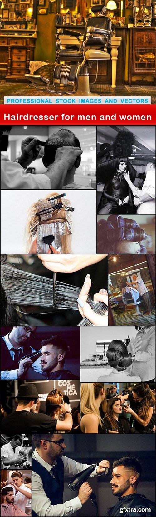 Hairdresser for men and women - 14 UHQ JPEG