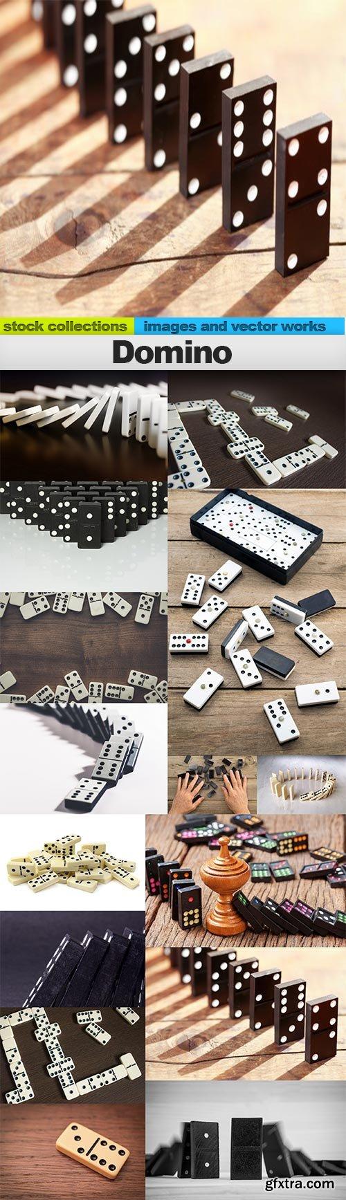 Domino, 15 x UHQ JPEG