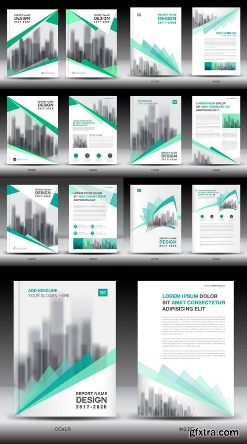 Annual Report Brochure Flyer Template