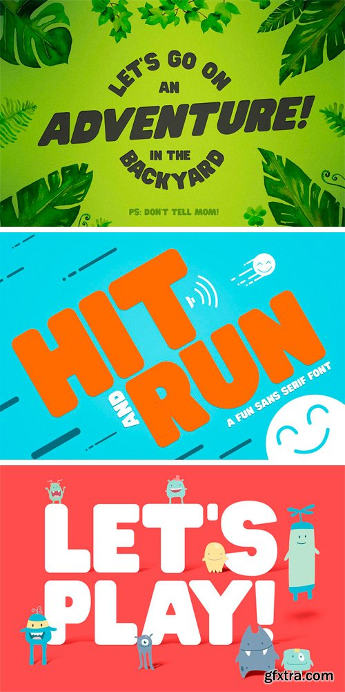 CM 1189392 - Hit and Run Font