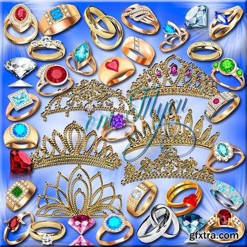 Tiaras and rings