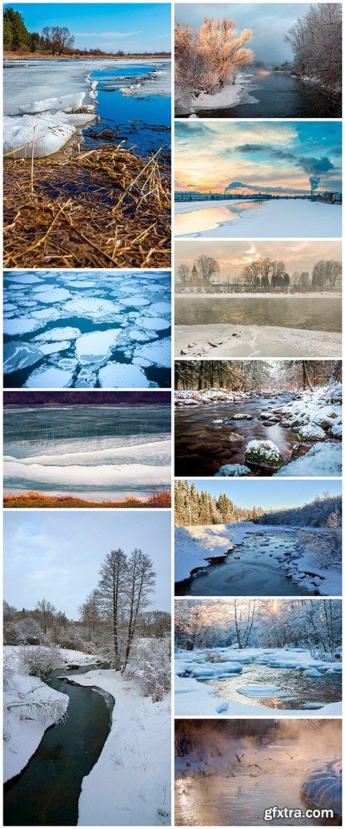 Winter river - 11UHQ JPEG