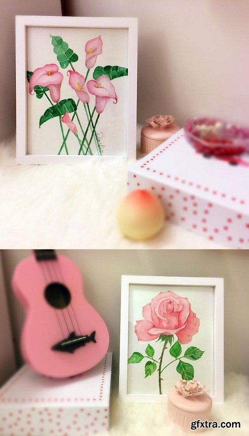 Watercolor Painting: Create Watercolor Flowers