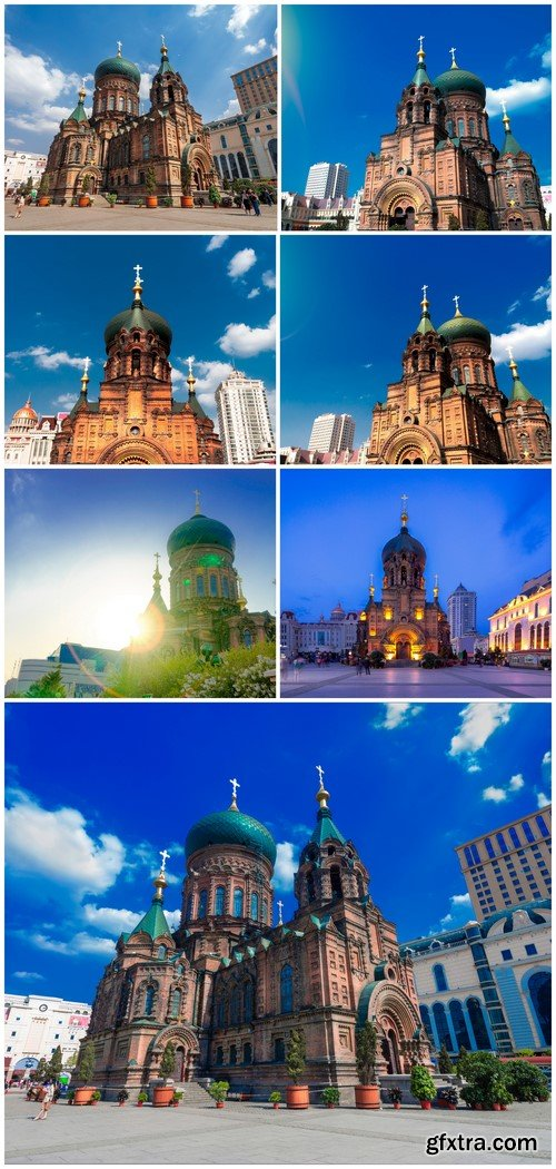 Famous Sophia Cathedral 7X JPEG
